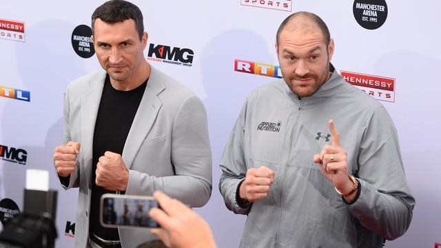 Fury en Klitschko boksen op 29 oktober alsnog om wereldtitel