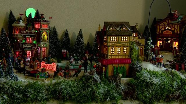 Nederlands kampioen kerstdorpen bouwen weer aan de slag