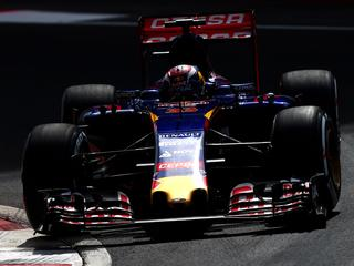 Limburger raakt in bocht controle over Toro Rosso kwijt