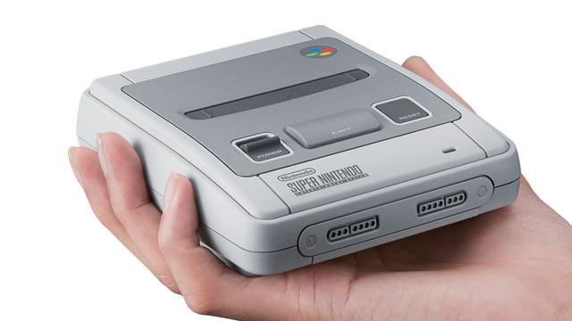 Miniversie Super Nintendo verschijnt 29 september