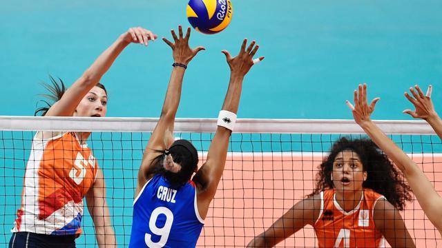 Volleybalsters winnen eenvoudig van Puerto Rico