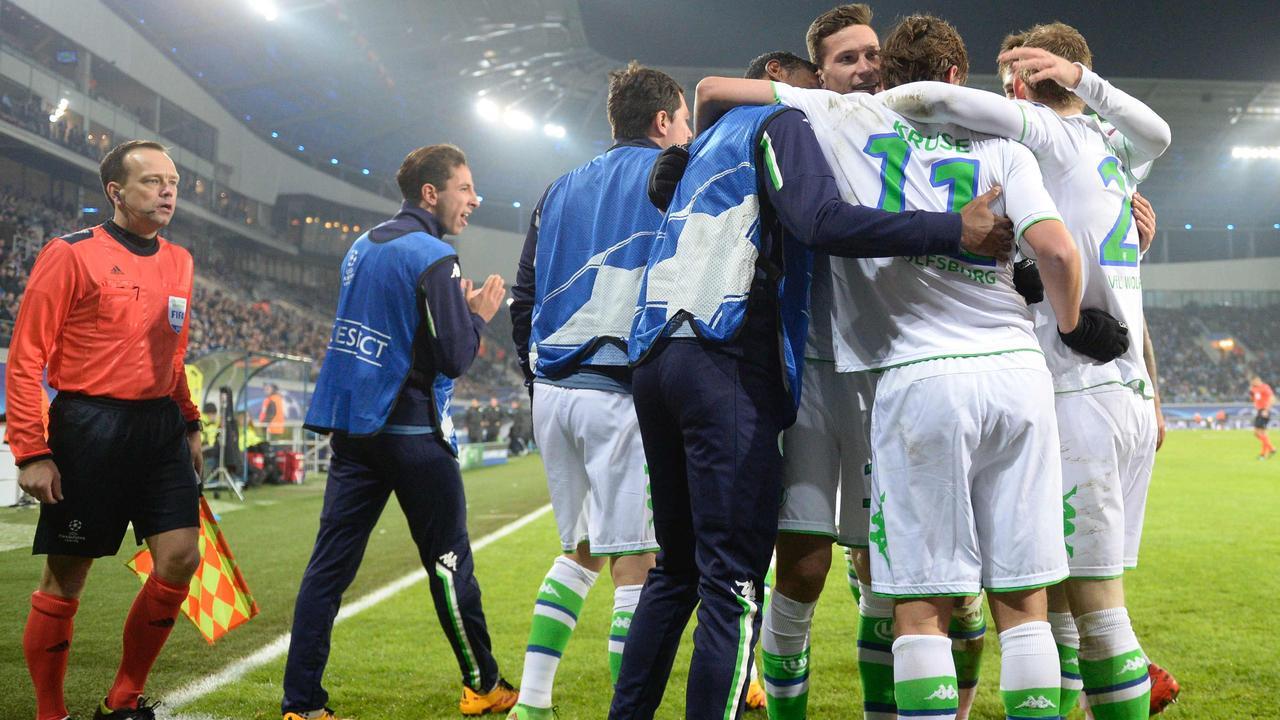 AA Gent-VfL Wolfsburg (2-3)