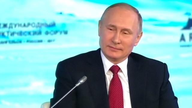 Poetin zegt dat Rusland geen invloed had op verkiezingen VS