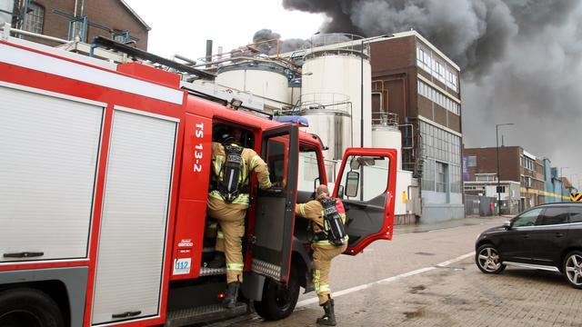 Winkels Vlaardingen ontruimd vanwege brand