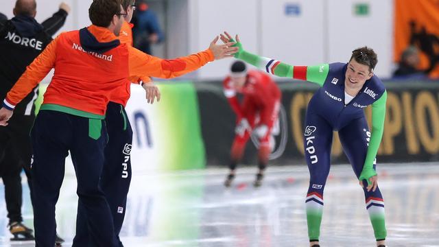 Wereldtitel Kramer op 5 kilometer, goud vrouwen op ploegenachtervolging