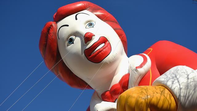 Ronald McDonald weg bij filialen na berichten enge clowns