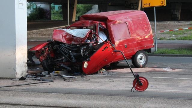 Dode bij eenzijdig ongeval Nieuw-West