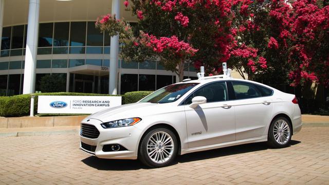 Ford: autonome auto voor de massa