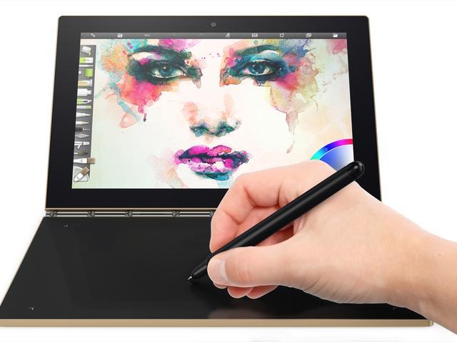 Lenovo presenteert tablet met drukgevoelig touch-toetsenbord