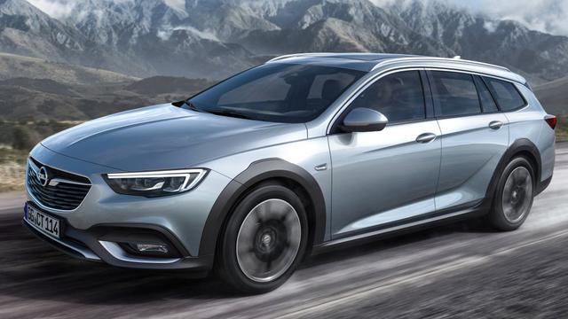 Opel komt met avontuurlijke variant Insignia