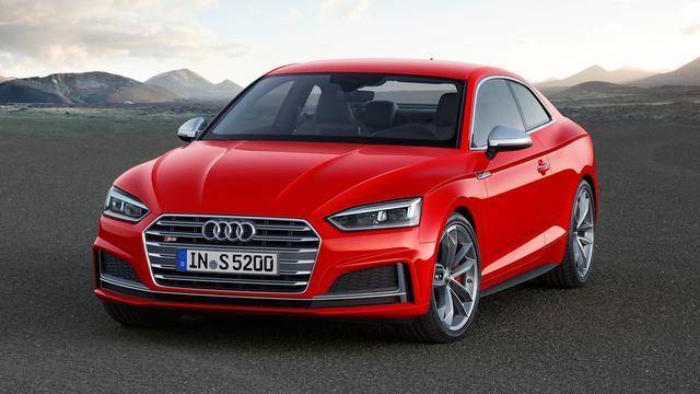 Audi presenteert nieuwe A5 Coupé