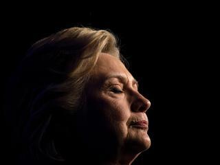 Clinton heeft verlies toegegeven
