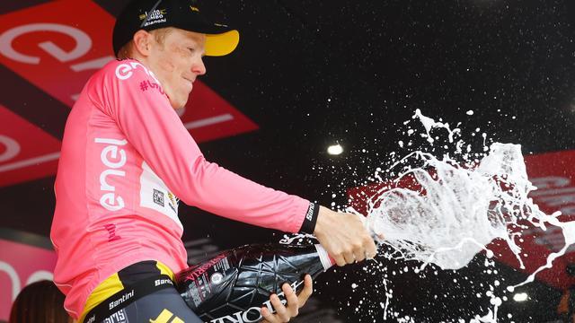 Kruijswijk blij met 'perfecte dag' na ijzersterk optreden in Giro d'Italia