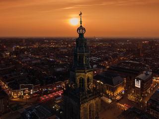 Groningen ook bij buitenlandse bezoekers meer in trek