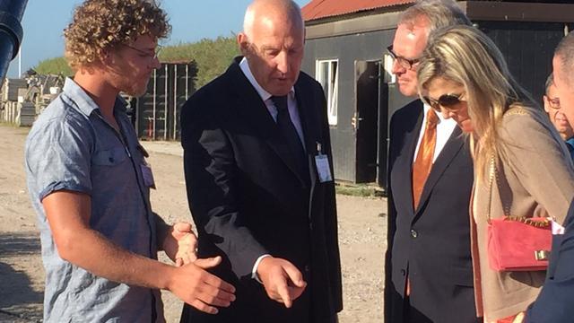 Máxima bezoekt aquacultuurprojecten in Zeeland