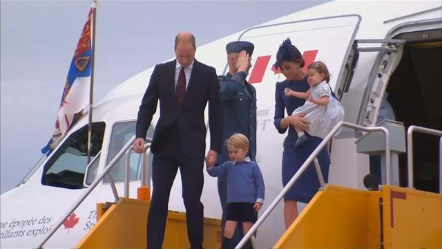 Prins William en Kate met gezin op bezoek in Canada
