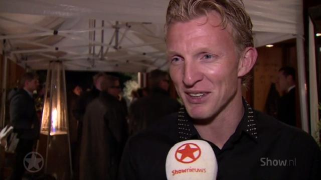 Dirk Kuijt trots op voetballende zoon Aiden