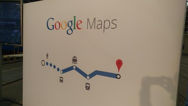 Google toont actuele tijden openbaar vervoer in Nederlandse Maps