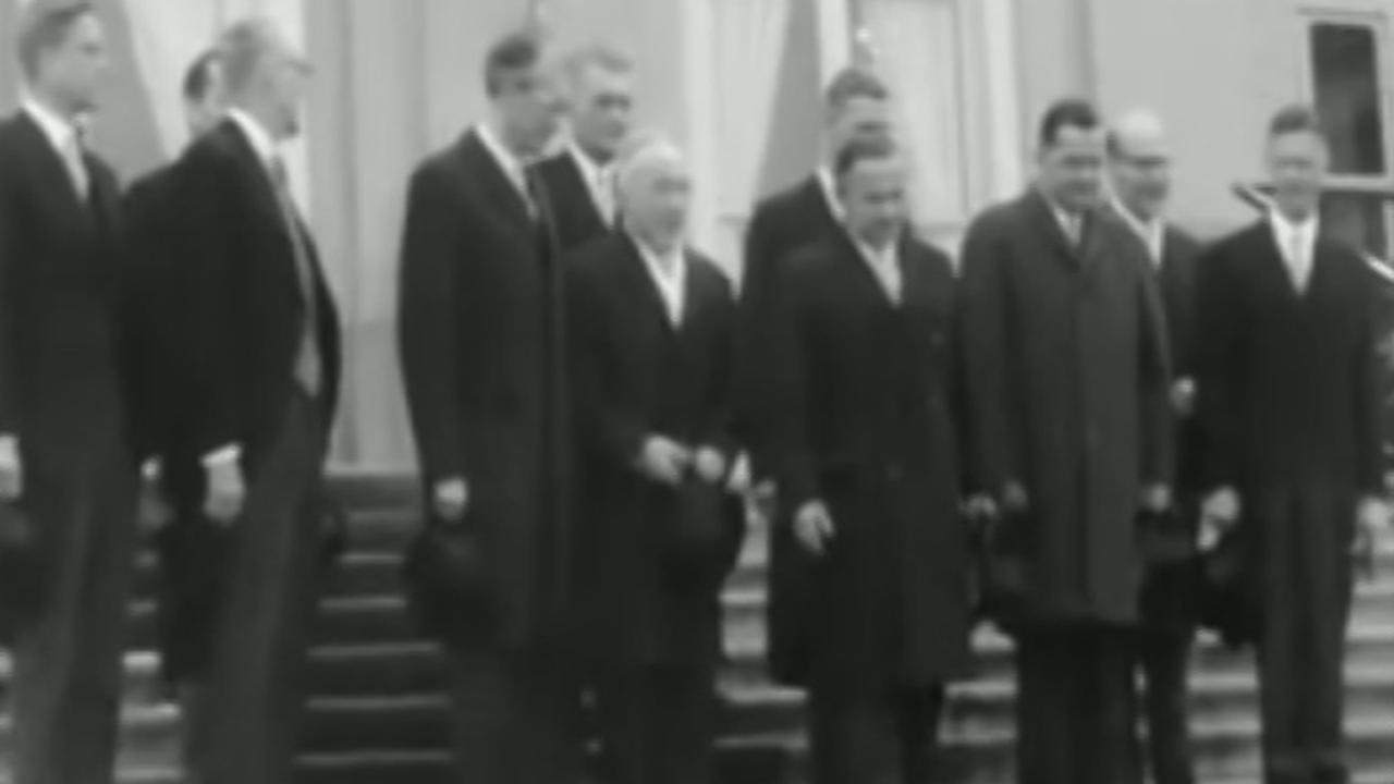Kabinet De Jong beëdigd (1967)