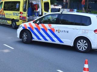 Slachtoffer overgedragen aan ambulance