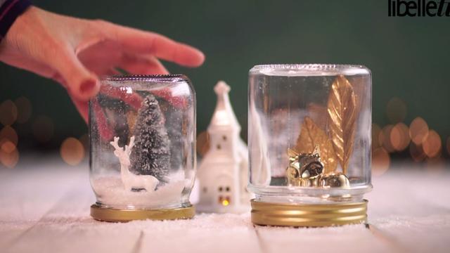 Zo maak je je eigen sneeuwbol voor Kerstmis