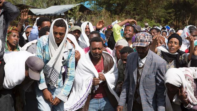 'Politie Ethiopië doodt 75 demonstranten'