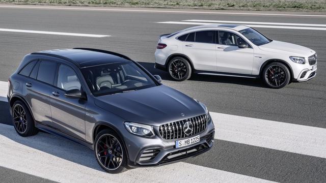 Publieksdebuut snelle Mercedes-AMG GLC 63 bij New York Auto Show