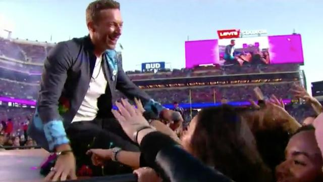 Coldplay zingt mashup bij Super Bowl