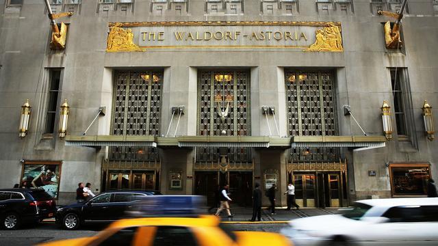 Wereldberoemde Waldorf Astoria-hotel in New York mogelijk drie jaar dicht