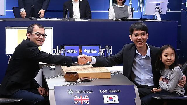 Google-computer wint wedstrijd Go van Zuid-Koreaanse meester