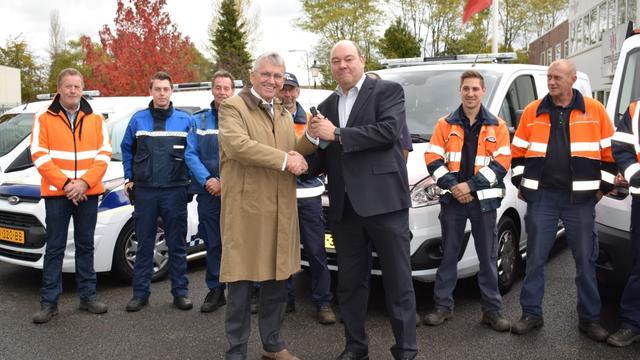 Buitendienstmedewerkers en boa's tevreden met nieuwe voertuigen