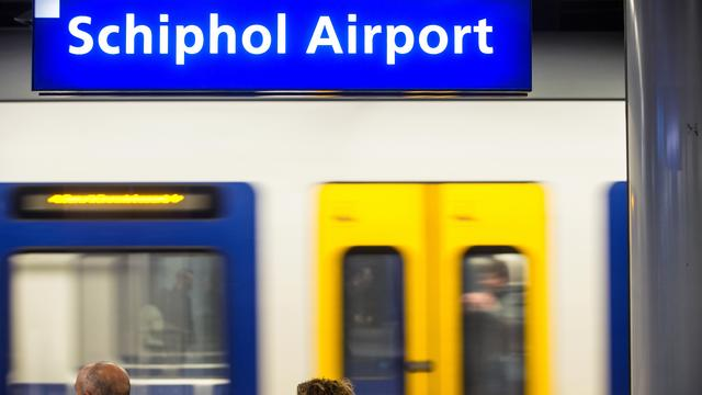 Dit weekend geen treinen tussen Amsterdam en Schiphol