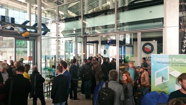 Pop-up store geopend voor tech-event