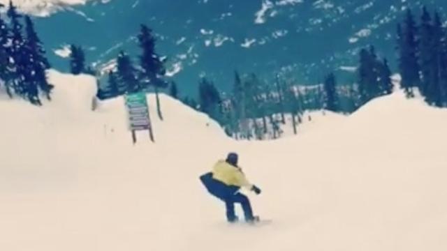 Brooklyn Beckham breekt sleutelbeen tijdens snowboarden