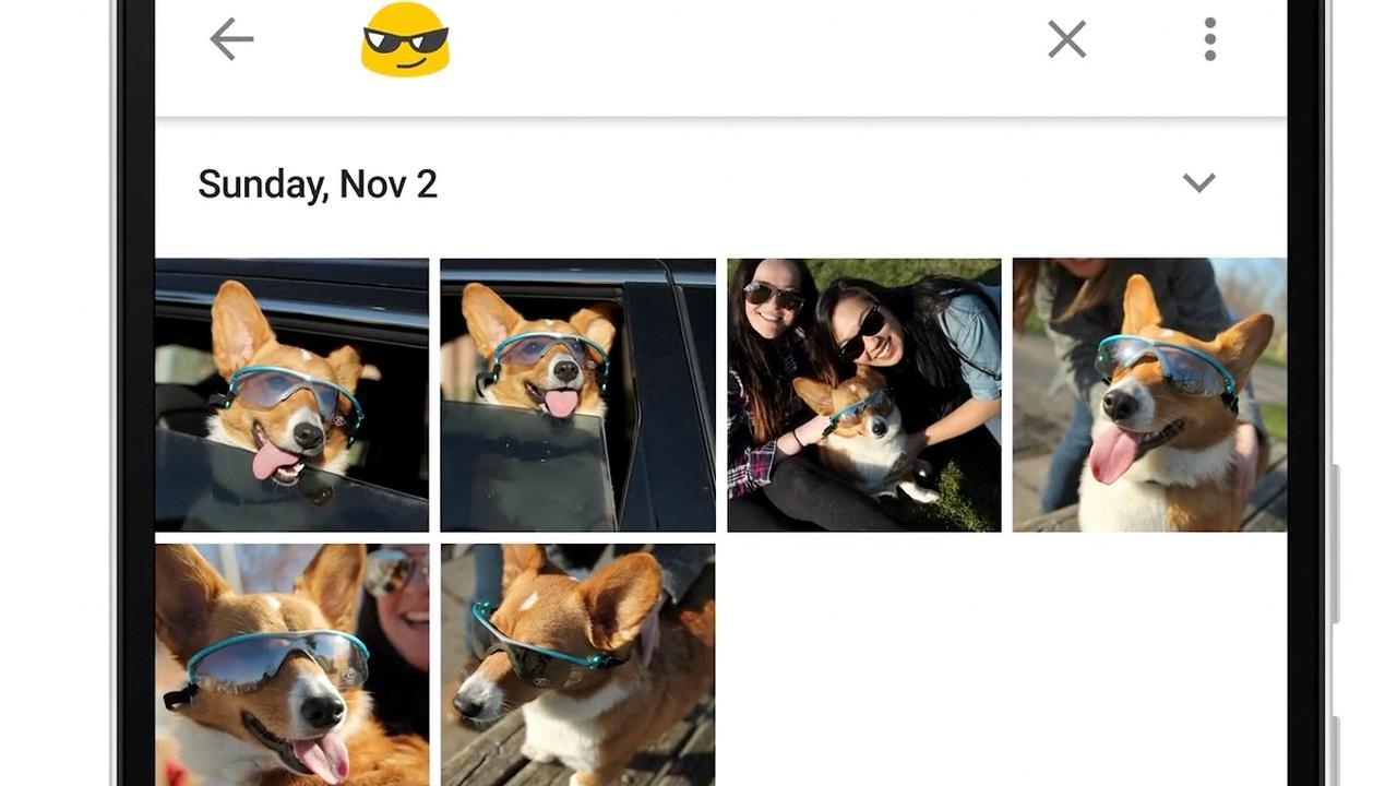 Zoeken op emoji mogelijk in Google Foto's