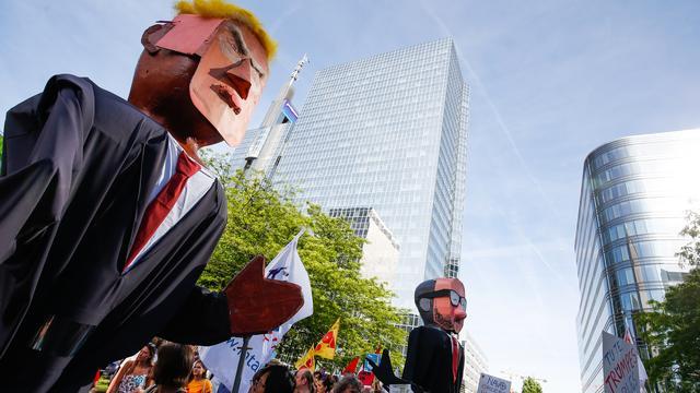 Trump toont zich 'enthousiast' over België tijdens bezoek