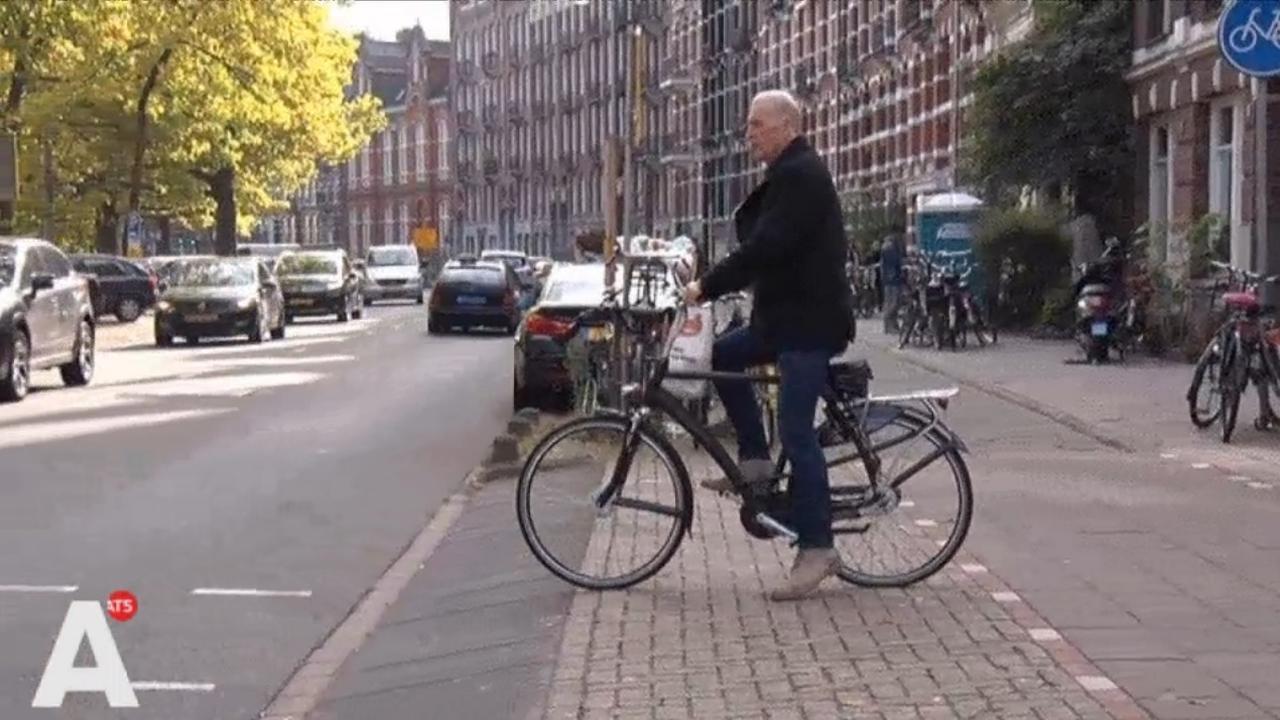 Nassaukade wordt veiliger voor fietsers
