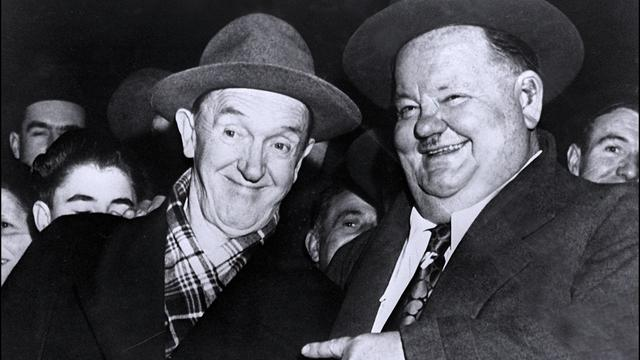 Biografiefilm over Stan Laurel en Oliver Hardy in de maak