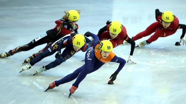 Schulting wint historisch goud op WK shorttrack voor junioren