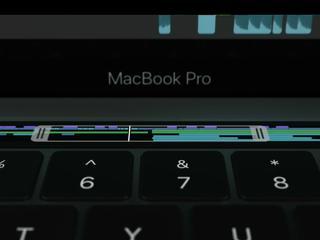 Speciaal touchscreen past zich aan op MacBook-apps