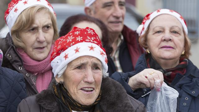 Spaans dorp heeft Nieuwjaar 's middags al gevierd