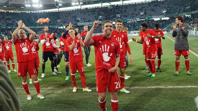 Robben voor vijfde jaar op rij Duits kampioen met Bayern München