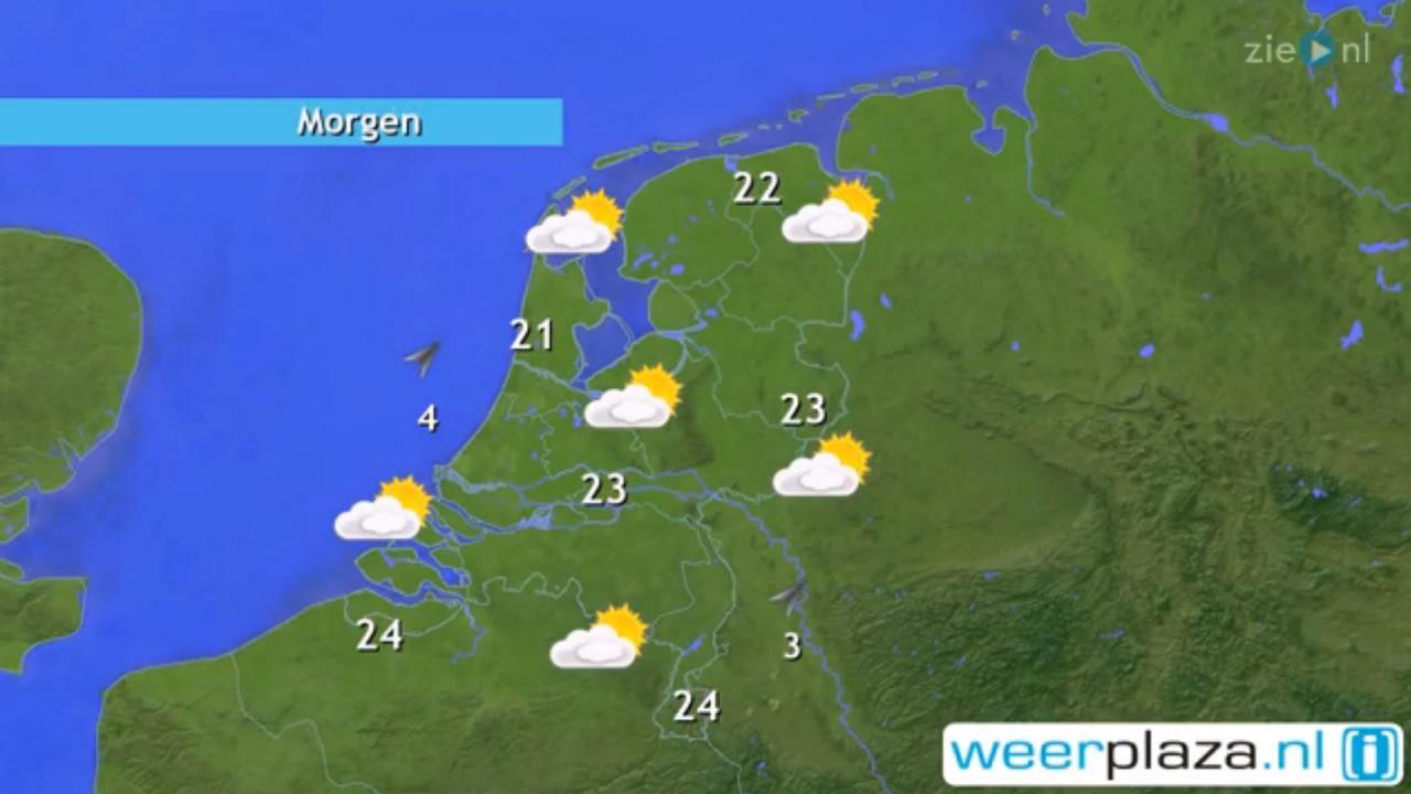 Weer: Vanmiddag kans op wat regen