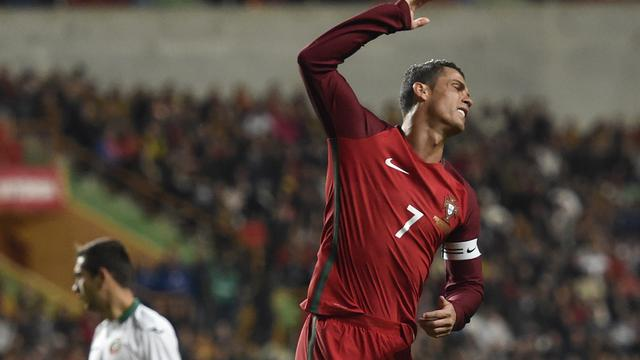 Portugal verliest door gemiste penalty Ronaldo van Bulgarije