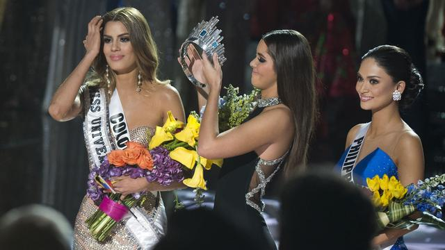 Miss Colombia niet boos op blunderende Miss World-presentator