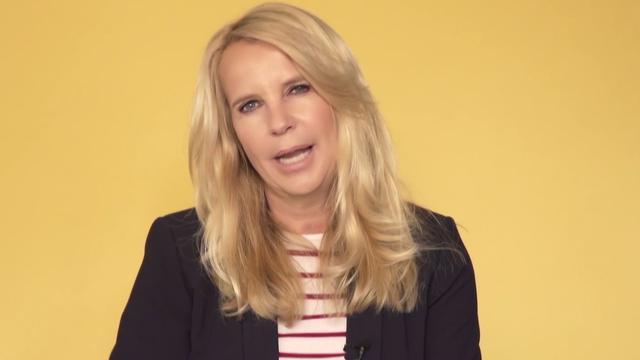 Linda overdonderd door nieuwe gewicht