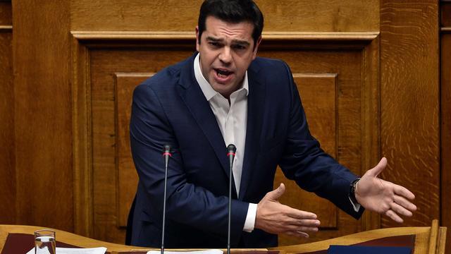 Griekse premier Tsipras verwacht schuldenverlichting van EU