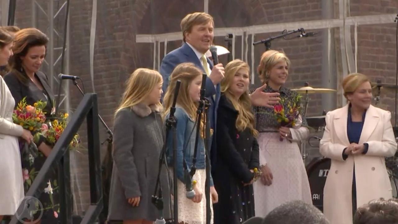Koning bedankt Zwolle voor 'fantastische organisatie' Koningsdag