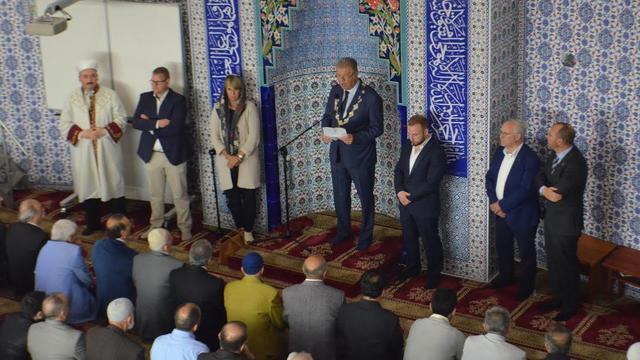 College en raadsleden aanwezig bij einde ramadan