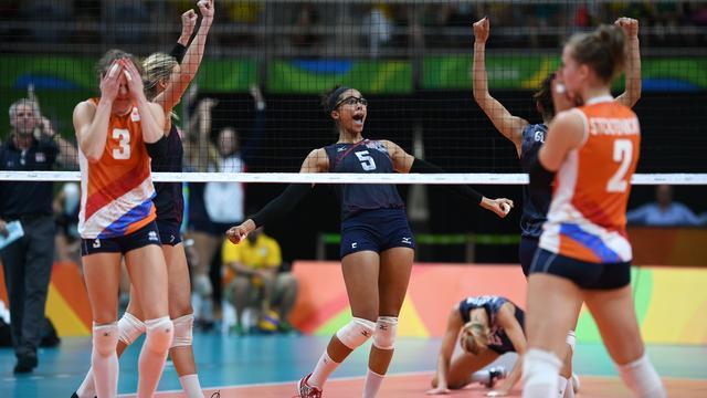 Volleybalsters verliezen strijd om bronzen medaille